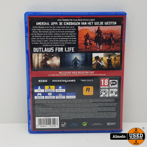 Sony Playstation 4 Red Dead Redemption II