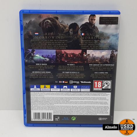 Sony Playstation 4 The Elder Scrolls Online Morrowind