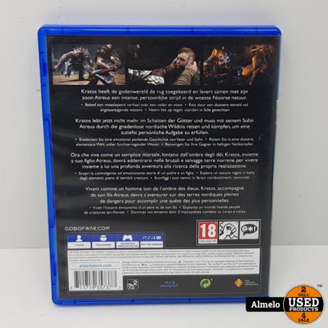 Sony Playstation 4 God of War