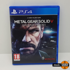 Sony Playstation 4 Sony Playstation 4 Metal Gear Solid V - Ground Zeroes