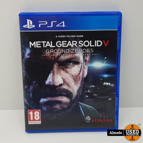 Sony Playstation 4 Metal Gear Solid V - Ground Zeroes