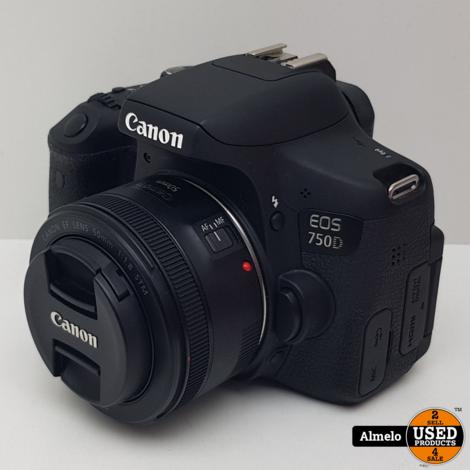 Canon EOS 750D met Tamron 18-270mm en Canon 50mm F/1.8 STM