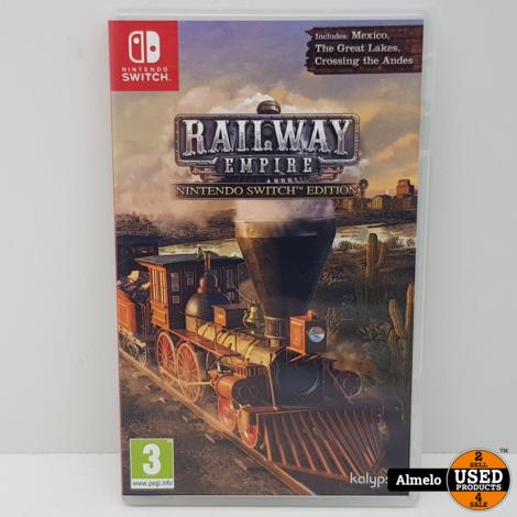 Nintendo Switch Railway Empire