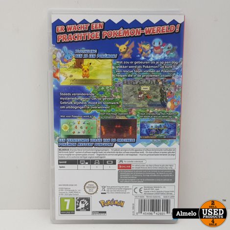 Nintendo Switch  Pokémon Mystery Dungeon: Rescue Team DX