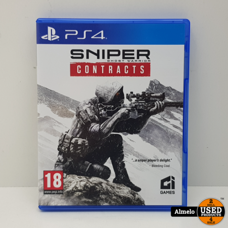 Sony Playstation 4 Sniper Ghost Warrior Contracts