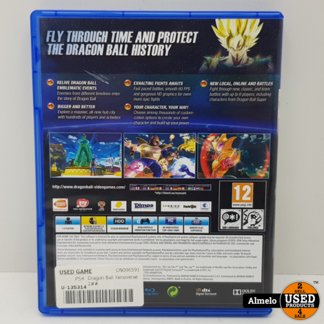 Sony Playstation 4 Dragon Ball Xenoverse 2