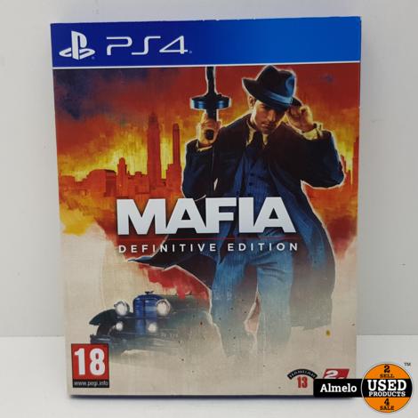 Sony Playstation 4 Mafia Definitive Edition