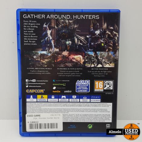 Sony Playstation 4 Monster Hunter World