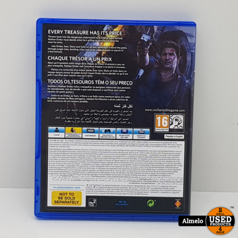 Sony Playstation 4   Uncharted 4 - A Thief's End