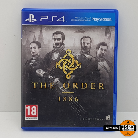 Sony Playstation 4 The Order - 1886