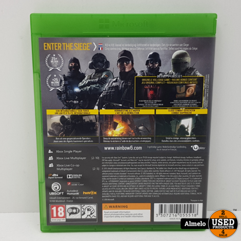 Xbox One Tom Clancy's Rainbow Six Siege - Advanced Edition