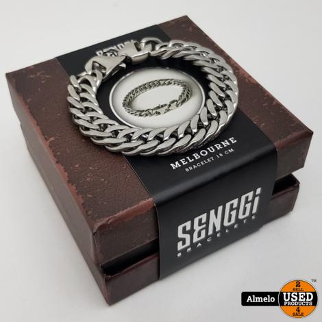 Senggi Melbourne 18cm armband Nieuw in doos