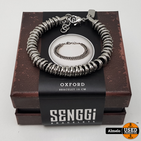 Senggi Oxford 18cm armband Nieuw in doos