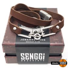 Senggi Senggi Johannesburg 55cm armband Nieuw in doos