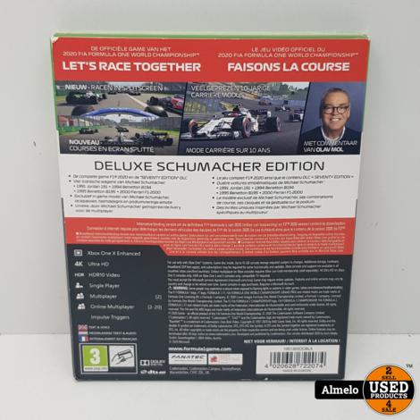 Xbox One F1 2020 - Deluxe Schumacher Edition
