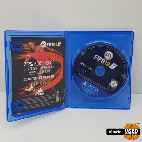 Sony Playstation 4 FIFA 18 Zonder Cover