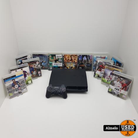 Sony Playstation 3 Slim 320GB met 13 games