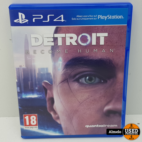 Sony Playstation 4 Detroit Become Human