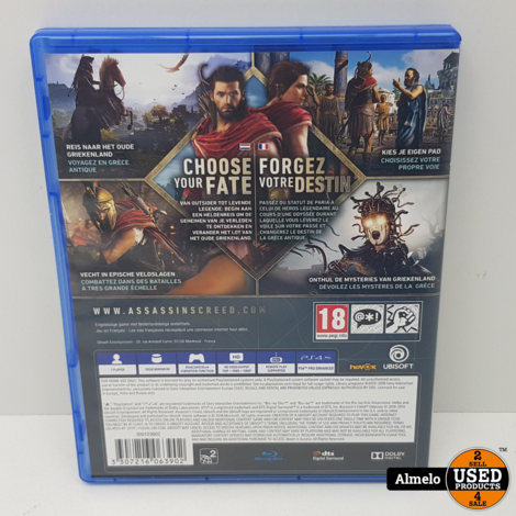 Sony Playstation 4  Assassin's Creed Odyssey