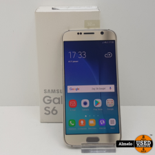 samsung Samsung Galaxy S6 32GB Gold in nieuw staat