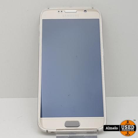 Samsung Galaxy S6 32GB Gold in nieuw staat