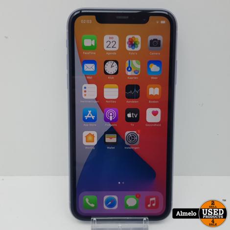 Apple iPhone 11 - 64 GB Paars