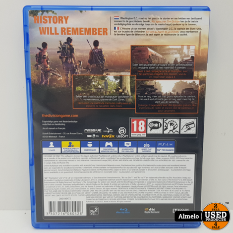 Sony Playstation 4 Tom Clancy's The Division 2