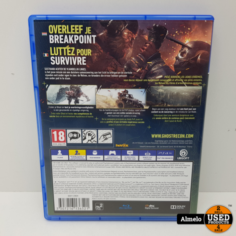 Sony PlayStation 4 Tom Clancy's Ghost Recon Breakpoint