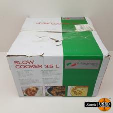 Magnani Magnani Slow Cooker   3.5 L Nieuw in doos