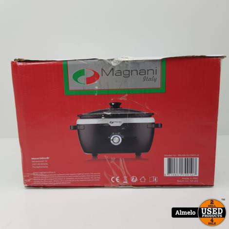 Magnani Slow Cooker   3.5 L Nieuw in doos