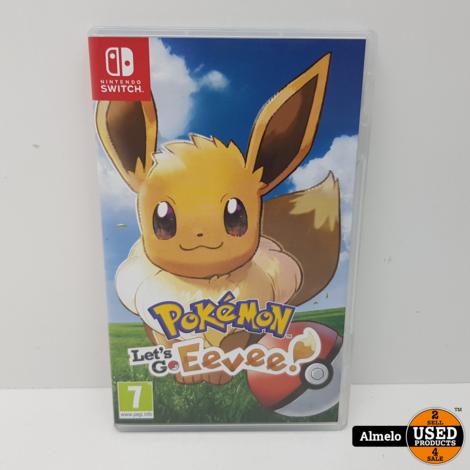 Pokemon Lets Go Eevee Nintendo Switch