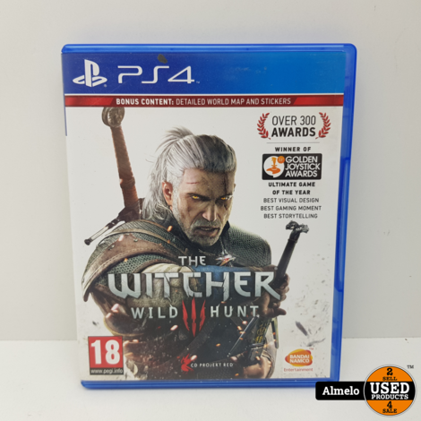 Sony Playstation 4 The Witcher 3: Wild Hunt