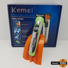 Kemei Kemei KM-606A PROD Tondeuse Groen *Nieuw*