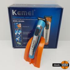 Kemei Kemei KM-606A PROD Tondeuse Blauw *Nieuw*
