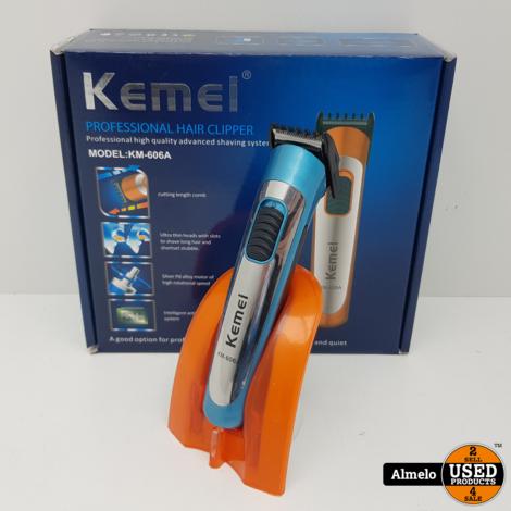 Kemei KM-606A PROD Tondeuse Blauw *Nieuw*