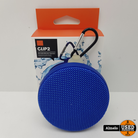 Clip2 Bluetooth box Rond *Nieuw*