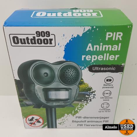 Outdoor 909 Batterij - Katten\Honden verjager Beweggingssensor *Nieuw*