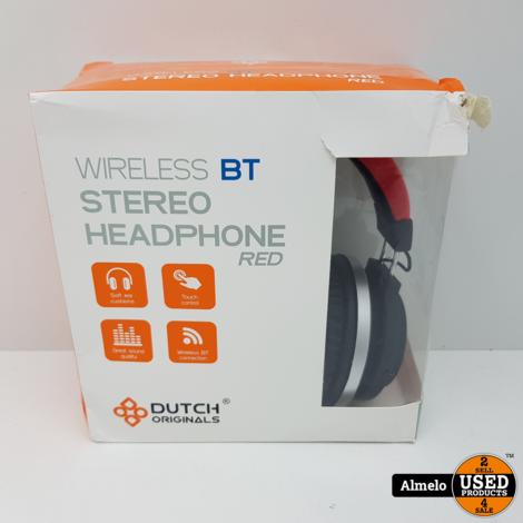 Dutch Originals Bluetooth Stereo Koptelefoon *Nieuw*