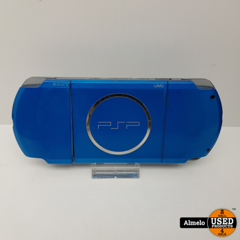 Sony Playstation Portable 3004 Blauw met games
