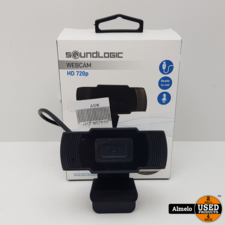 Soundlogic Soundlogic Webcam HD 720P *Nieuw*