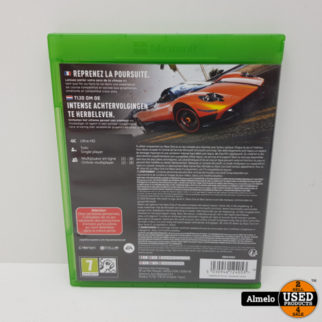 Xbox One Need for Speed - Hot Pursuit Remastered