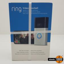 Ring Ring Video Doorbell Gen. 2 Grijs nieuw geseald