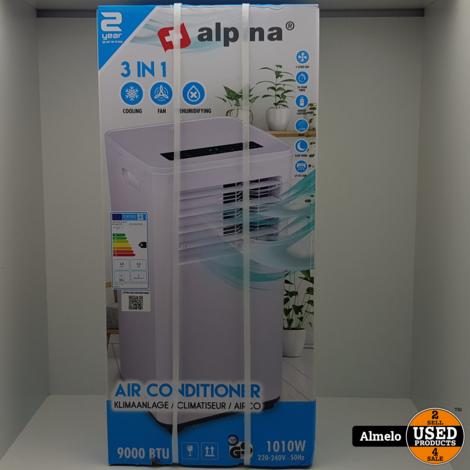 Alpina® Premium - Airconditioner   Airco   Extra Koele Lucht   9000btu   1010 Watt *Nieuw Geseald*