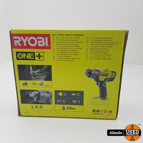 Ryobi R18IW3-0 18V Slagmoersleutel *Nieuw Geseald*