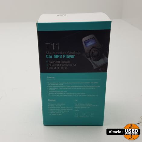 T11 Multifunction Wireless Car MP3 Player *Nieuw*