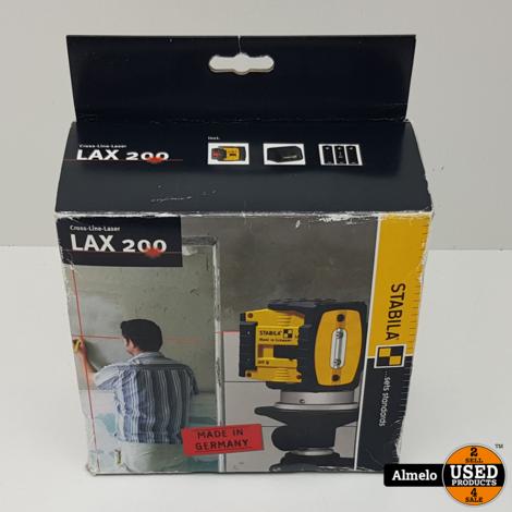 Stabila LAX 200 Puntlaser Kalibratie (ISO) Zelfnivellerend Reikwijdte (max.): 20 m *Nieuw*