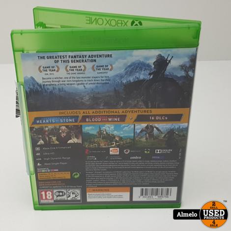 Xbox One The Witcher 3: Wild Hunt GOTY