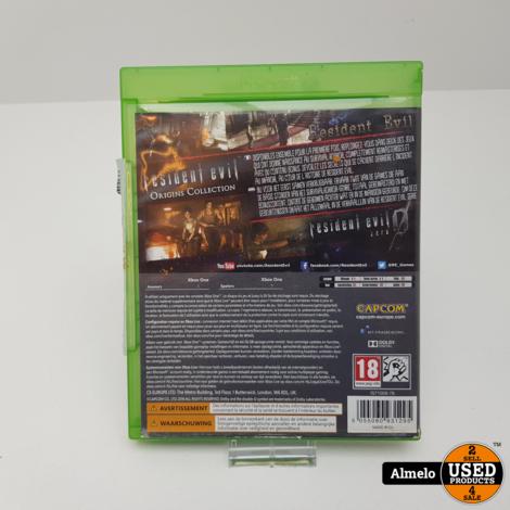 Xbox One Resident Evil Origins
