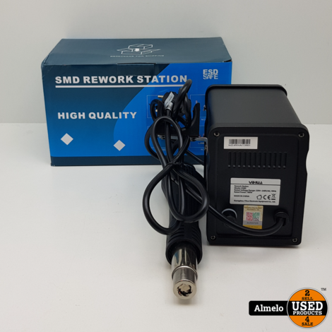 Yihua 858D Heteluchtreperatiestation Heteluchtpistool 700W met LCD Display *Nieuw*