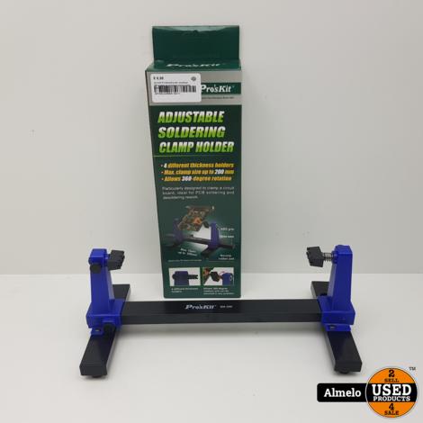 Pro'skit Printplaathouder draaibaar 360 graden en montage clamp holder *Nieuw*